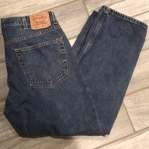 Levi's 550 Relaxed Fit Jeans 40x29